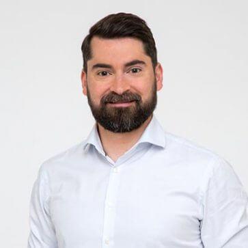 Daniel Strieder Mitgruender und CEO von cashpresso